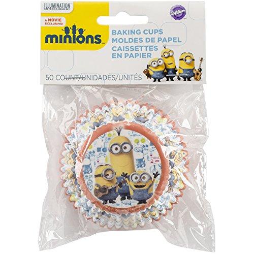Standard Baking Cups-Minions 50/Pkg