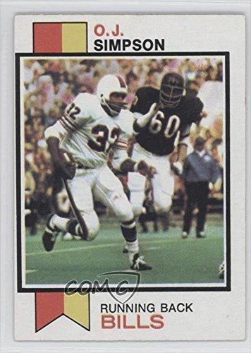 O.J. Simpson (Football Card) 1973 Topps #500 (Oj Simpson Football Card compare prices)