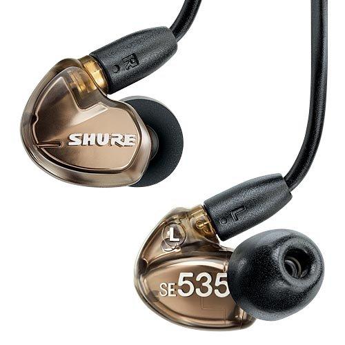 【国内正規品】 SHURE 高遮音性イヤホン メタリックブロンズ SE535-V-J