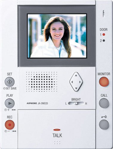 Aiphone Ja-2Mecd Master Monitor Station With Picture Memory Hands-Free Color Video Intercom front-909092