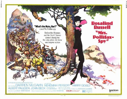 Mrs. Pollifax Spy - Movie Poster - 11 x 17
