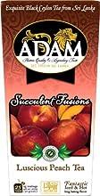 Adam True Ceylon Tea 12-pack Luscious Peach Black Tea 25-count boxes