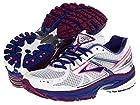 Brooks Adrenaline GTS 13 Women Running Shoes White Clematis Phlox Size 10