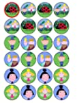 24 Ben & Holly (#2) Cupcake Toppers