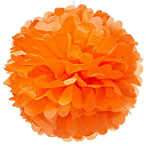 Weddingstar-Paper-Pom-Pom-Large-Orange