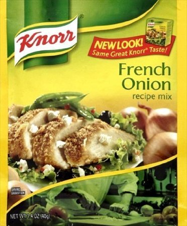 Knorr French Onion Recipe Mix, 1.4-Ounce Packages (Pack Of 12) front-740581
