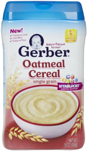 Gerber 1st Foods Baby Cereal - Oatmeal - 16 oz - 1