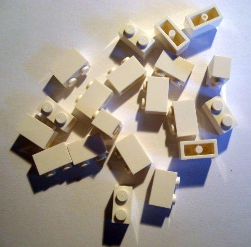 LEGO CITY - 20 STEINE mit 1x2 Noppen in weiss