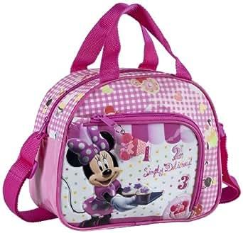 Disney Genuine Childrens Kids Boys Girls Bags and Luggage (Vanity Bag Minnie Mouse Cupcakes 23x19x10cm)