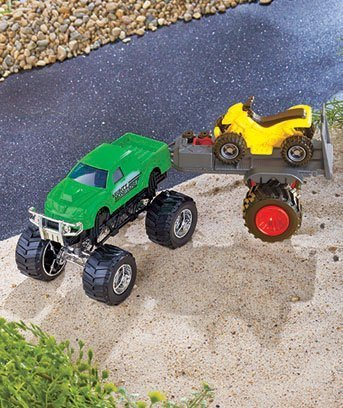 Mighty Monster Truck and ATV (Truck Trailer For Atv compare prices)