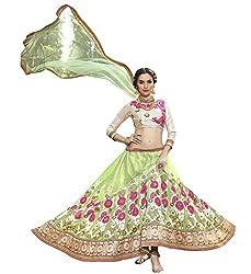 Silvermoon women's Net Embroidered heavy lehenga choli-sm_smGLFA5302_Light green_free size