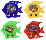 "Handheld Water Ring Games ~ Fish Theme ~ Approx. 5"" ~ New ~ Fish Water Toy, Sea Life Party Favors (Pack of 12)"