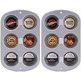 Wilton 6-Cup Jumbo Muffin Pan Pack of 2