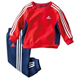 Adidas brushed fleece tracksuit