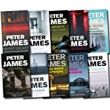 Peter James Series Collection 10 Books Set Gift Pack (Faith, Dead Tomorrow, Dead Man's Footsteps, Prophecy, Denial, Twilight, The Truth, Dreamer, Possession, Sweet heart) Jennifer Fallon