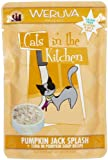 Cats in the Kitchen Cat Food, Pumpkin Jack Splash, 3-Ounce Pouches (Pack of 8)