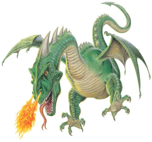 "Mythical Monsters Wall Decals - Wyvern 24"" Removable Wall Graphic front-916511"