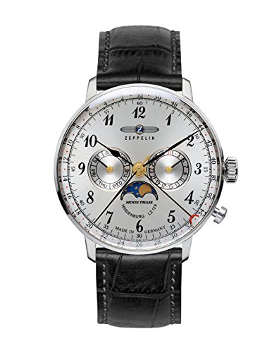 Zeppelin Mens Watch with Moonphase 7036-1