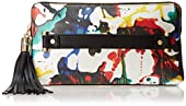 MILLY Splatter Paint Clutch