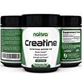 SALE | #1 Pure Micronized Creatine Monohydrate Powder - 100 Servings | 500g - Unflavored - Best Bodybuilding Supplement to Boost Power, Reduce Soreness and Build Muscle Mass