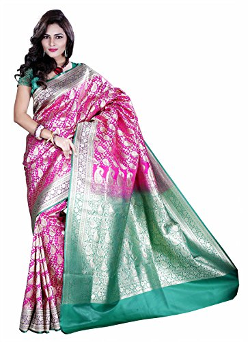 Asavari Art Silk Banarasi Bridal Saree