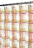 Park B. Smith Wavy Plaid Shower Curtain, Tangelo
