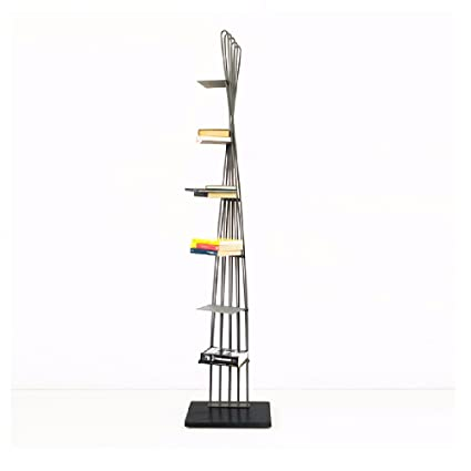Hane design - Libreria a colonna in acciaio