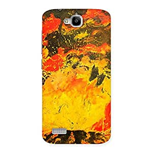 Stylish Modern Art Paint Print Back Case Cover for Honor Holly