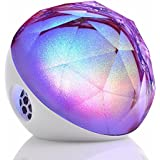 Yantouch IceDiamond+ (ID+) Outdoor Wireless Bluetooth Speaker build-in 10 Hour Battery with LED Lights, Amazing Sound and Powerful SubWoofer Base, iPhone iPad APP, Wireless Remote Control, 2014 Enhance Version
