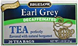 Tea Decaffeinated Earl Grey 20 Bags - Pack of 1