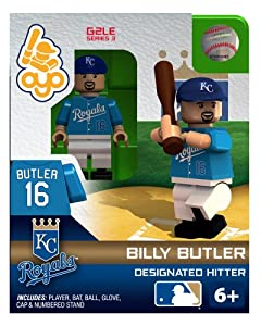 Billy Butler 2013 Generation 2 Oyo Mini Figure Kansas City Royals by OYO