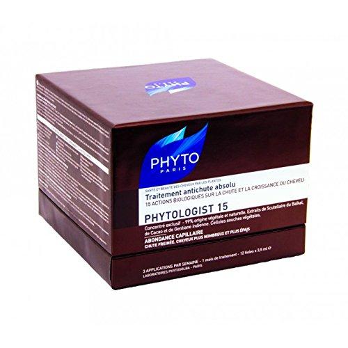Phytologist 15 Trattamento Fiale Intensivo Anti-Caduta Globale 12x3.5ml