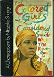A Choreopoem - for Colored Girls Who Have Considered Suicide When the Rainbow is Enuf (0413385507) by Shange, Ntozake