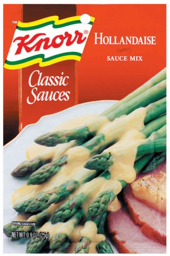 Buy Knorr Classic Sauces, Hollandaise Sauce Mix, 0.9-Ounce (Pack of 24 ...