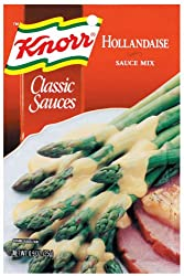 Knorr Classic Sauces, Hollandaise Sauce Mix, 0.9-Ounce Packages (Pack of 24)