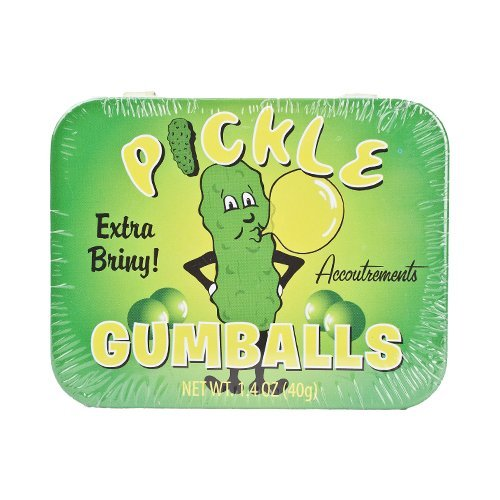 Pickle Flavored Gumballs 1.4Oz (40G) front-189351