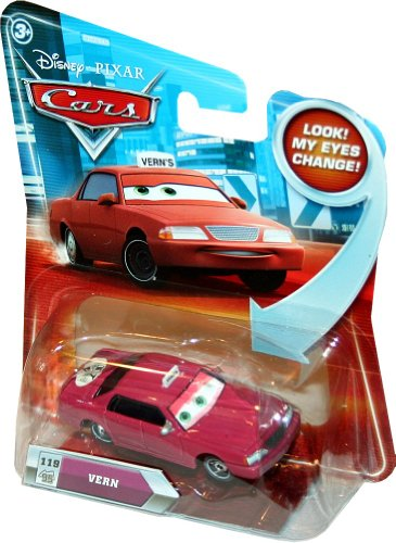 Disney/Pixar Cars, Lenticular Eyes Series 2 Die-Cast Vehicle, Vern #119, 1:55 Scale