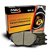 Max KT003351 [Front-Axle Set] Performance Ceramic Disc Brake Pads
