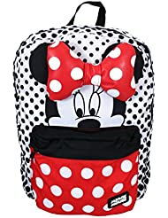 Loungefly Disney Minnie Mouse Half Face Small And Large Polka Dots Backpack