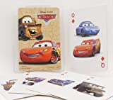 Disney's Pixar Movie 54 Cards Playing Card Set Lighting Mcqueen and Mater on Front of Cards