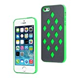 Moon Monkey Fashion Waterproof Glaring Back Cover Slim Case for Iphone 5 5s (MM396) (Green)