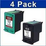 4 Pack (2BK+2C) HP No 92 & No 93