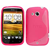Samrick S Wave Hydro Gel Protective Case for HTC Desire C - Pink