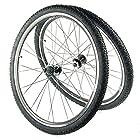 Kada Concepts Comp 29 MTB Disc/Rim 29er Wheelset w/Tires 8/9/10-speed Black