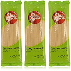 Double Horse Long Vermicelli - 400 g (Pack of 3)