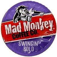 Mad Monkey Coffee Capsules, Swingin Bold, 48 Count