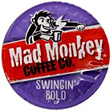 Mad Monkey Coffee Capsules, Swingin Bold, 48 Count