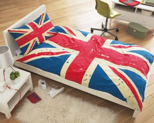Union Jack Single Duvet set