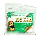 25 x Zig-Zag Slim Menthol Filter Tips 250 Pack