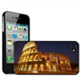 Fancy A Snuggle 'Roman Colosseum in Rome Italy' Clip On Back Cover Hard Case for Apple iPhone 4/4S